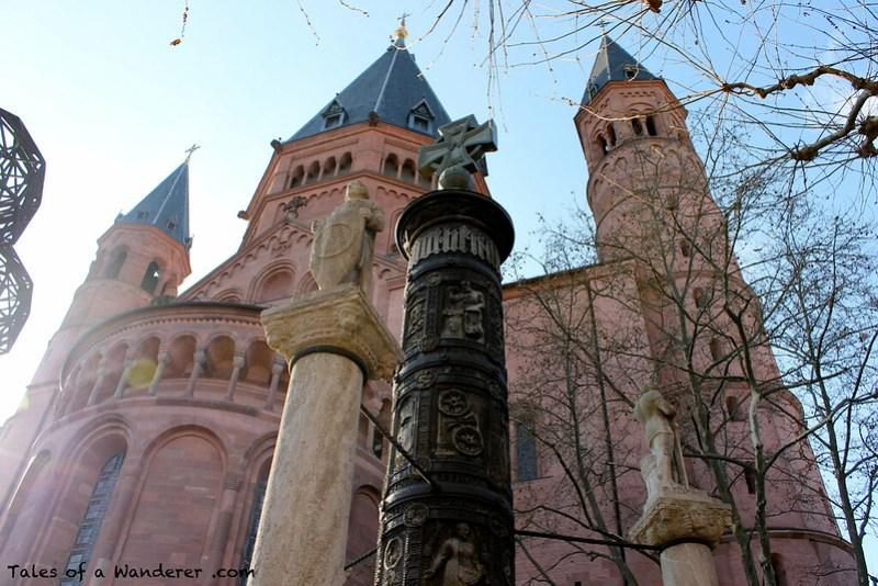 MAINZ - Liebfrauenplatz - Mainzer Dom 'Hohe Dom St. Martin'