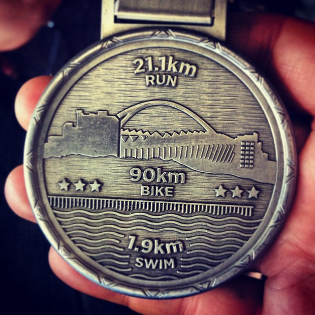 The beautiful medal