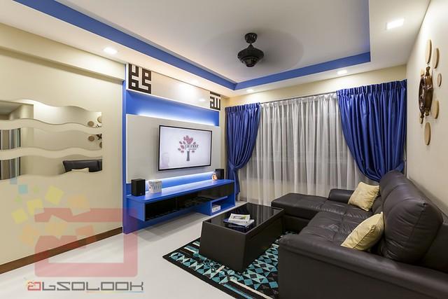 HDB 4 Room BTO Nautical Blk 429B Yishun Orchid Spring Interior Design Singapore