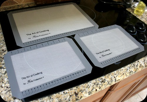 the art of cooking baking mats