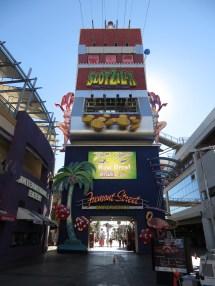 Slotzilla Beginning Of Zip-line Las Vegas Nevada
