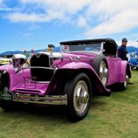 1929 Ruxton C Baker-Raulang Roadster at the Pebble Beach Concours d'Elegance