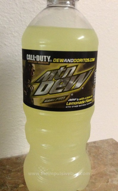Mountain Dew Game Fuel Lemonade