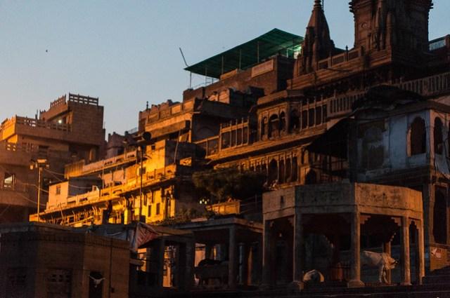 Dusk in Varanasi