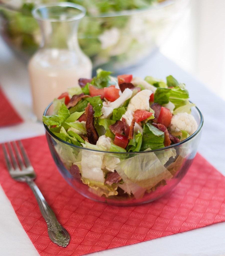 BLT salad 6