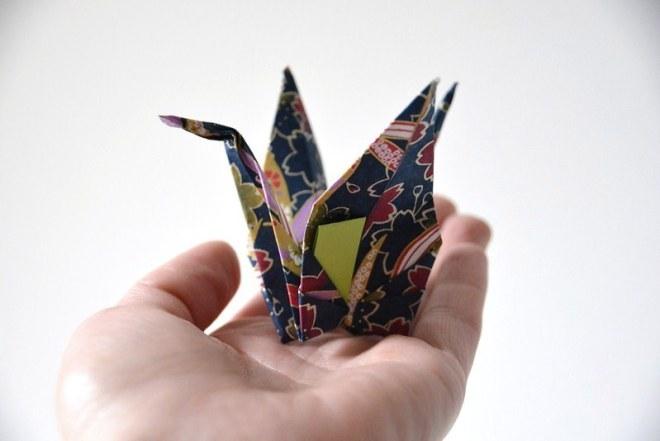 Origami Kranich (14)