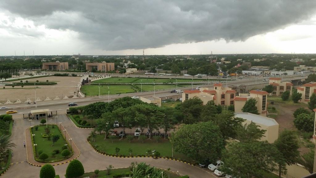 Storm clouds over N'Djamena
