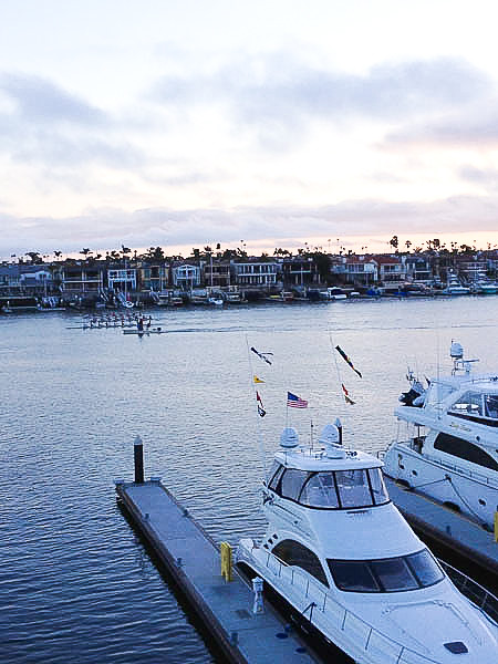 View from Balboa Bay Resort