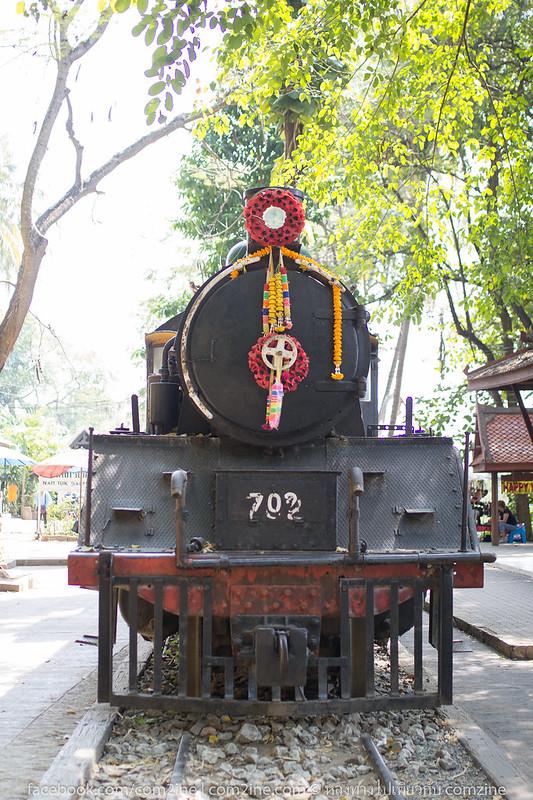 วันเดียวก็เที่ยวได้ ทางรถไฟสายมรณะ เลาะริมผาแม่น้ำแคว กาญจนบุรี9