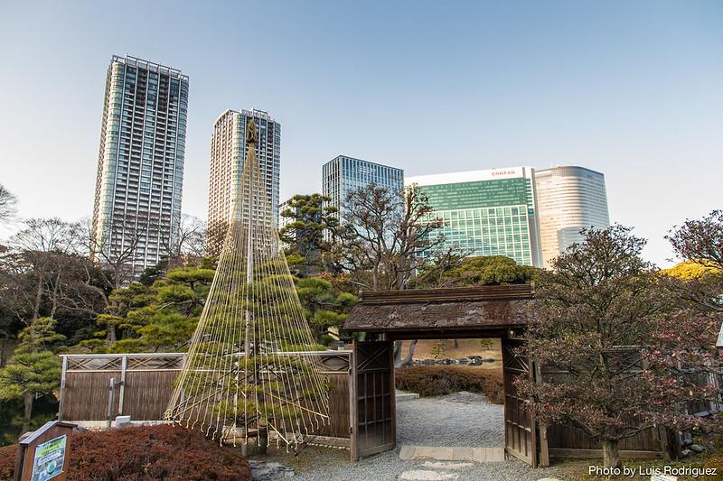 Hama-Rikyu Gardens en Tokio, en un itinerario básico por Japón