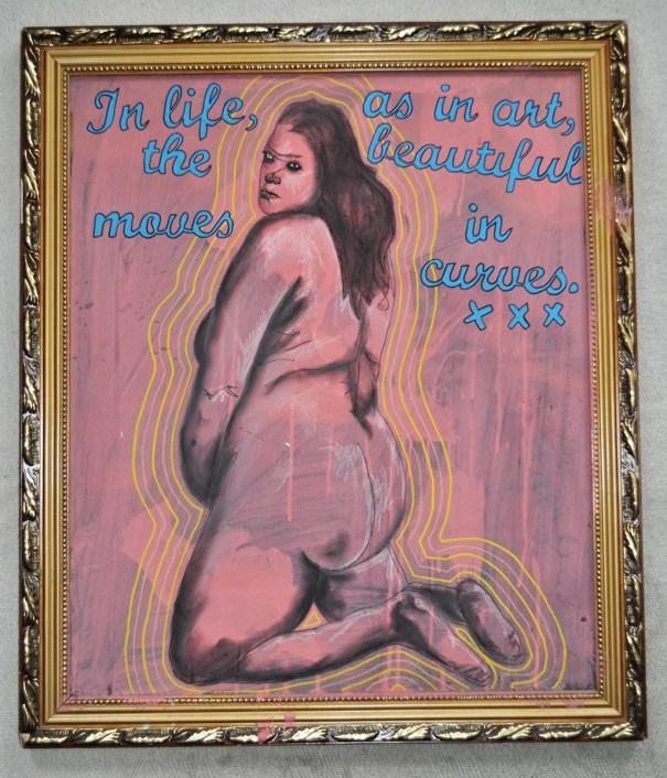 In life, as in art...