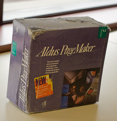 Dusty Aldus Pagemaker 4.2 Box