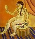 Joan Miró. Desnudo con espejo. 1919.