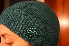 Emerald Egg Hat 003