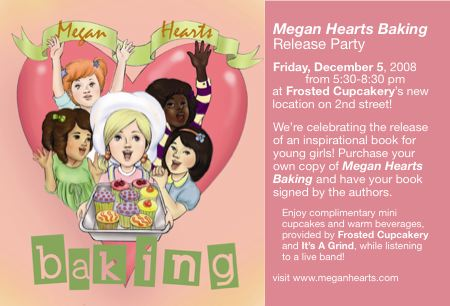 Book party for Megan Hearts Baking
