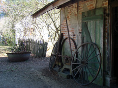 Outside the Blacksmith's Shop