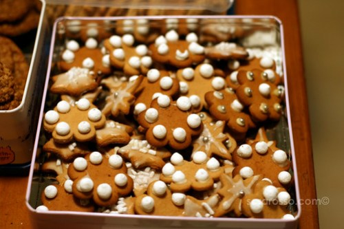 Nevicati Cookies for Holiday Cookie Swap