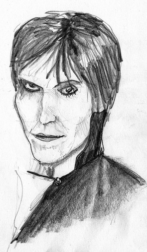 Lux Interior sketch