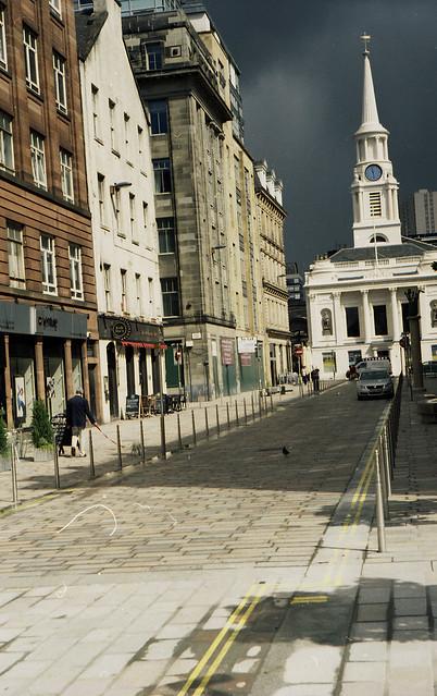 Merchant city poodle walker