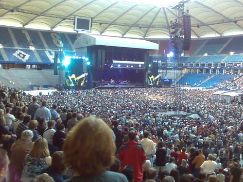 Bruce Springsteen en el concierto de Hamburgo 21-junio-2008