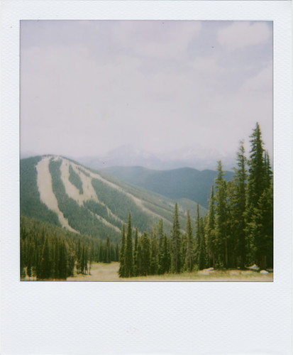 North Peak Polaroid