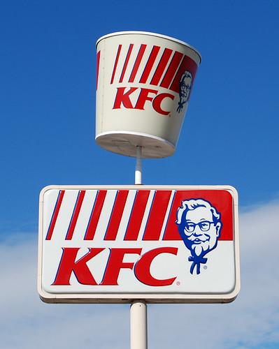 Redesigned KFC bucket