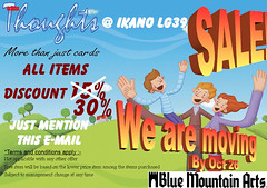 Thoughts - Blue Mountain Arts Moving Out sale