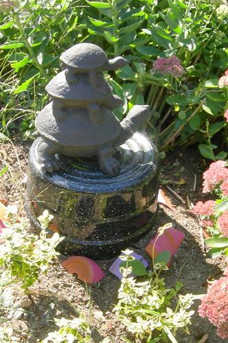 Turtlepile sculpture