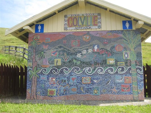 Toilet Block Mosaic