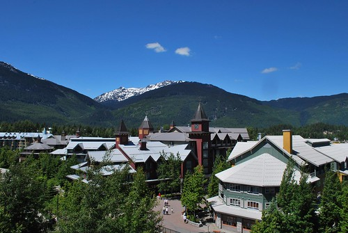 View from our Whistler balcony