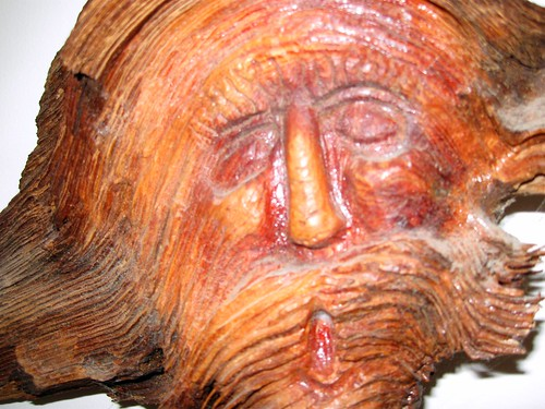 Old Carved Man