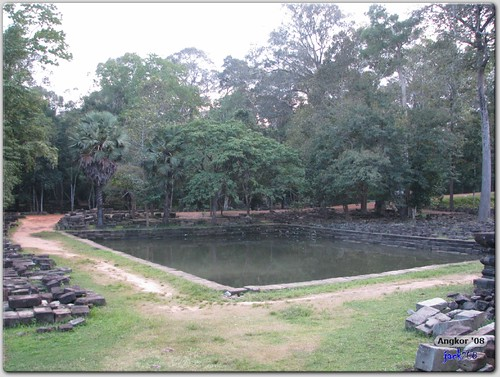 Baphuon - Pond beside Pavilion