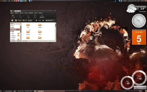 Ubuntu 8.10 + Dust