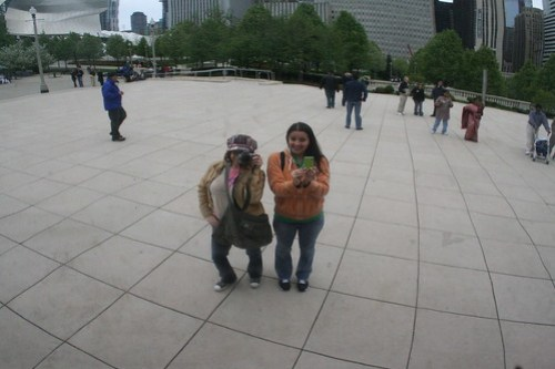 Me & Rosa + Cloud Gate = Rad