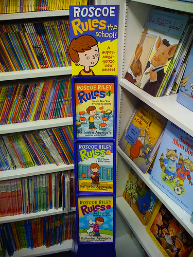 Roscoe Riley at Children's Book World