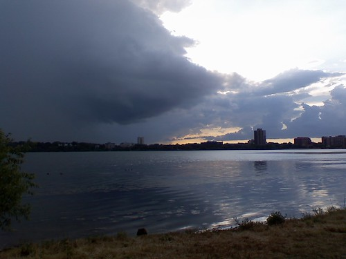 Storm over Lake Calhoun