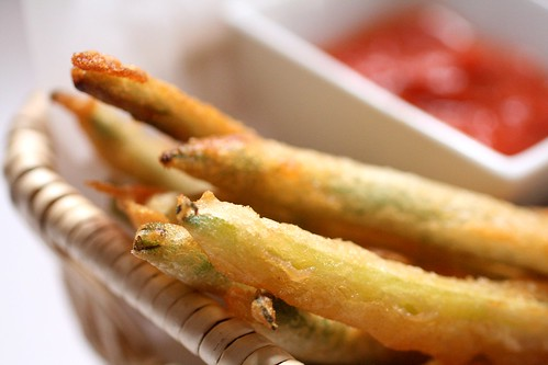Beer Battered String Beans