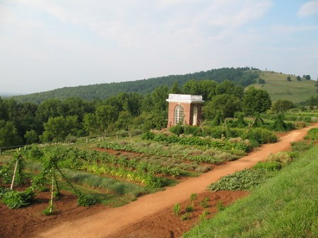 Monticello Vegetable Garden