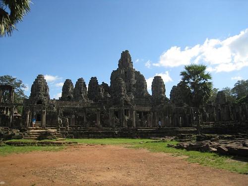 Bayon temple at Angkor
