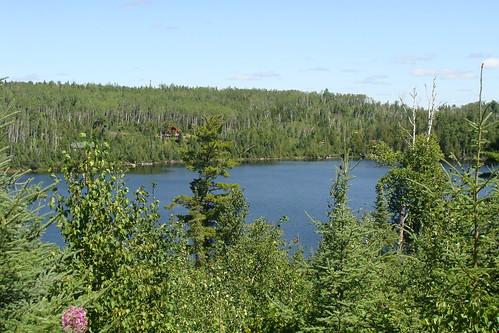 Lake in the Gunflint Range