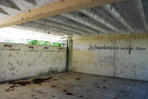 Abandon CompSci classroom in Cuba