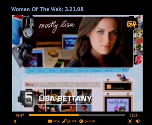 Lisa Bettany #5 Hottest Women of the Web