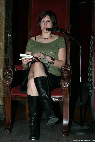 "Suki Bishop reads from ""Flight"" in Dirty Girls"