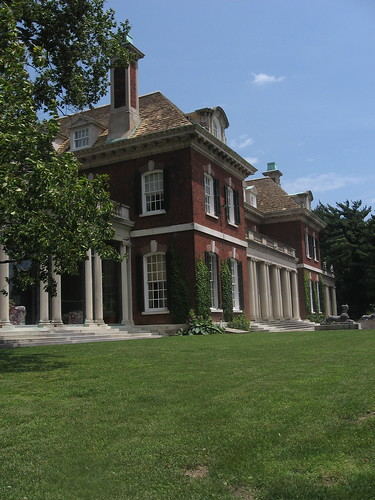 Old Westbury House from the Side