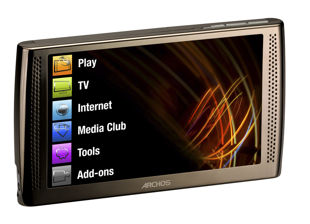 Lovely New Archos Internet Media Tablet
