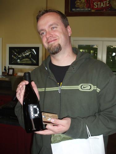 Lenn buying CA wine!