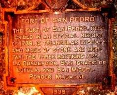 Fort San Pedro Marker