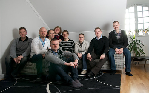 The Twingly Team (although Pontus is missing)