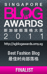 Singapore Blog Awards 2011 - Best Fashion Blog