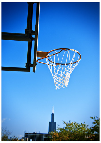 Dunking on the Sears Tower